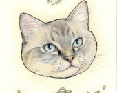 Custom Portrait of your Pet or Animal of choice  by Lilly Piri