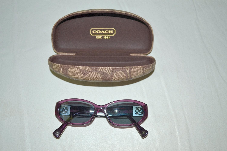 vintage pair of coach sunglasses with by honeybeepollen