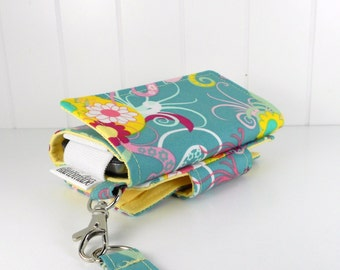 The Errand Runner - Cell Phone Wallet - Wristlet - for iPhone/Android - Scents in Juicy/Butter
