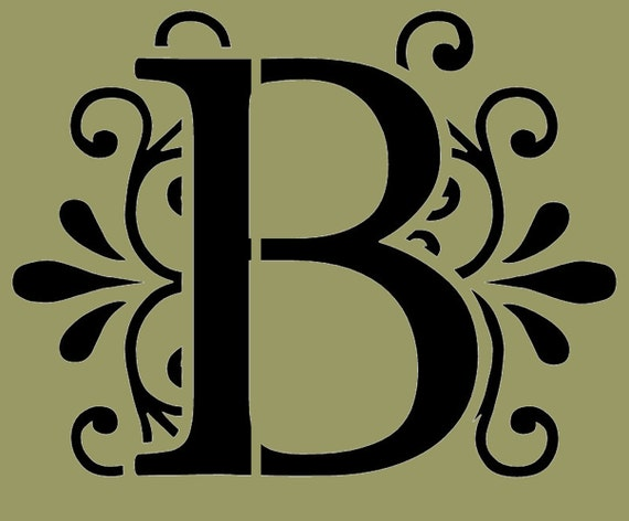decorative letter b - photo #7