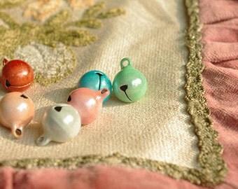 6Pcs Pink  Tender   Lovely Little   Bells