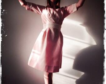 Pale Pink Organza Dress