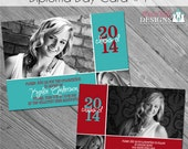 INSTANT DOWNLOAD - Diploma Day Graduation Announcement 1- custom photo templates for photographers