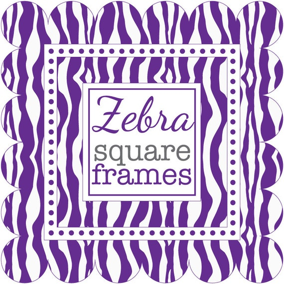 Purple Zebra Print Clip Art Images & Pictures - Becuo