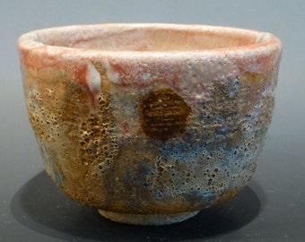 Yunomi Japanese Style Tea Cup volcanic glaze effects wonderful color Watson