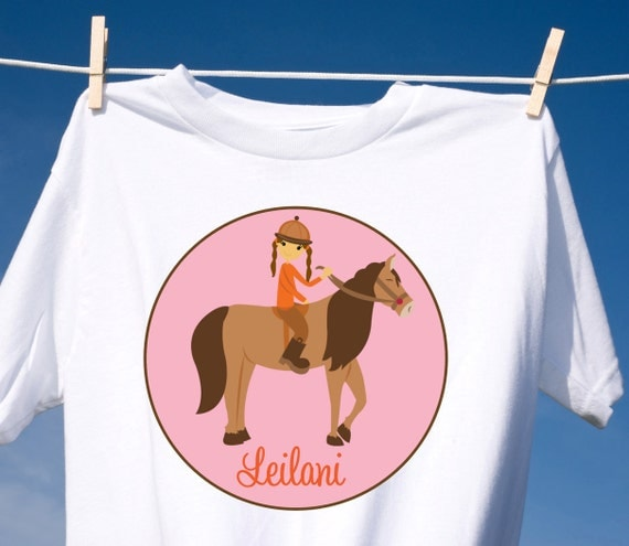 Cowgirl Personalized T Shirt or Bodysuit
