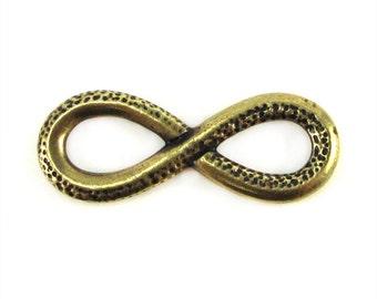 Brass Oxide TierraCast Infinity Link