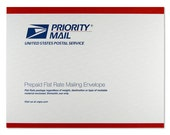 Domestic  Priority Shipping Upgrade - Flat Rate Envelope USPS
