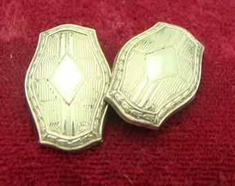 Single 10k Gold Filled Cufflinks