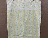 Vintage Yellow Floral Pillowcase