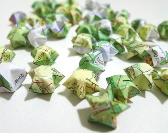 Around The World In 80 Stars - Origami Lucky Stars