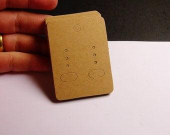 190 pcs - paper earring display card - NPCS1