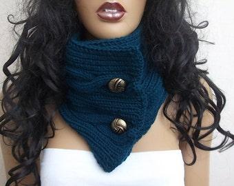 UNISEX  cowl / neck warmer / hand knit neck warmers
