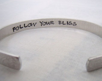 Secret message flower cuff bracelet