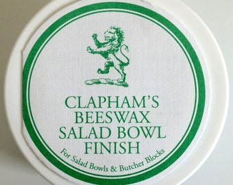 Clapham's Beeswax Salad Bowl Finish -  50 g  -  Made in Canada