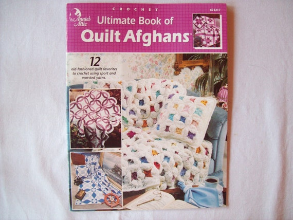 Book Cover Crochet Quilt : Ultimate book of crochet quilt afghans pattern