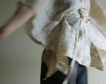 Kimono Sleeve Jacket/ Beige/ Summer Jacket by NervousWardrobe on Etsy