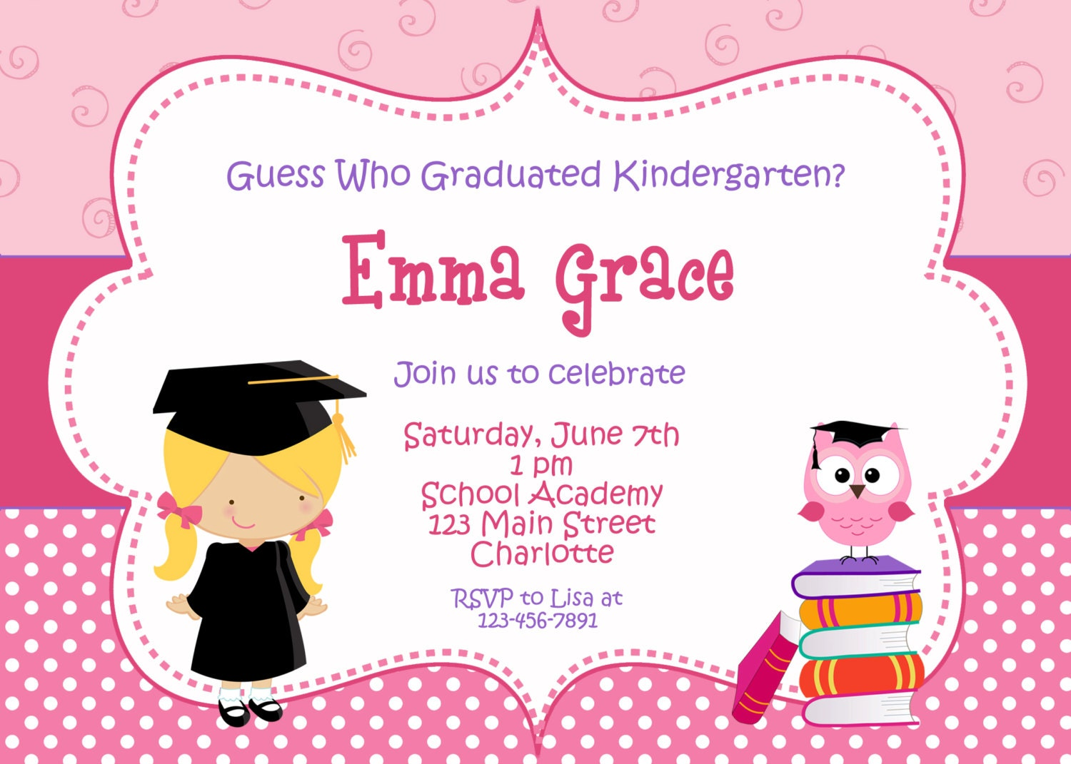zoom - Invitation For Graduation