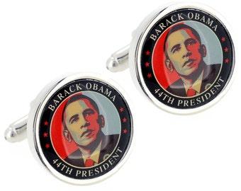 Barack Obama President Cufflinks 1200288