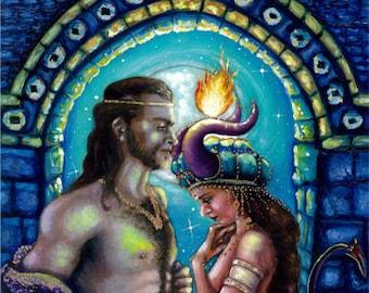 King Solomon and the Demoness Onoskelis