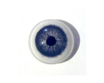 HAZEL eye Steampunk Glass Human Eye Gothic Eyeball Mens Tie Tack Pin Steam Punk