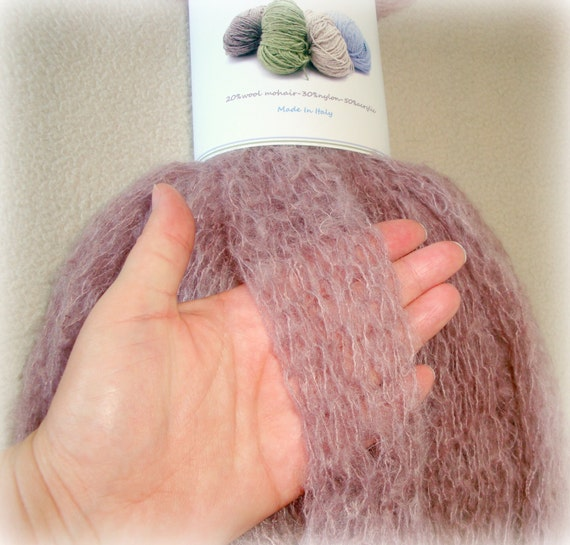 Hand Knitting Yarn : Arm Knit Yarn - Hand Knitting - Thick Gauge Yarn - Mohair Wool Acrylic ...