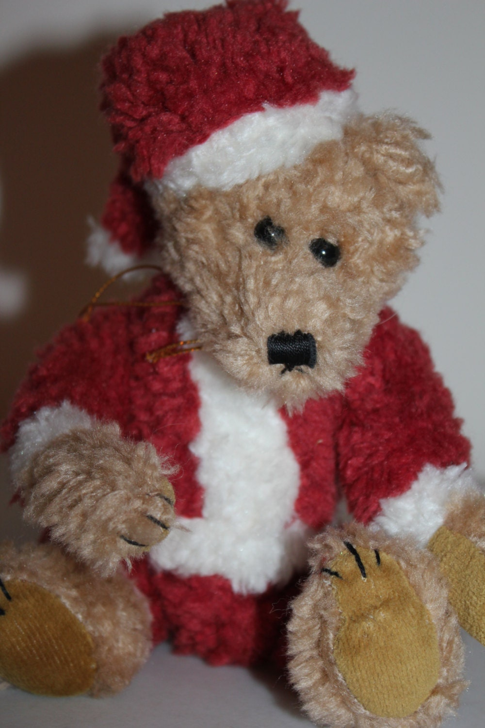 The Boyd Bear Collectible Christmas Bear Boyd Santa Bear