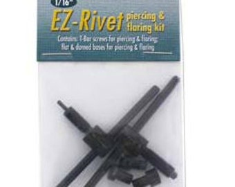 1/16th Replacement  Rivet Punch and Flair Accessory EZ Rivet-Use with EZ Rivet setter for larger size hole