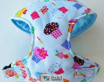 Cupcake Comfort Soft Dog Harness - Made to Order -