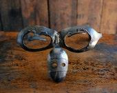 Silver Spoon Sculpture Glasses