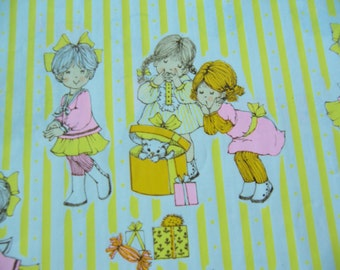 sweet yellow striped wrapping paper