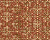 1 Yard Chrysanthemum Medallion Color Spice by Maywood Studio