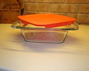 8x8 Personalized Pyrex Baking Dish