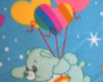 Care Bears with Yellow Handmade Fleece - Ready to Ship Now