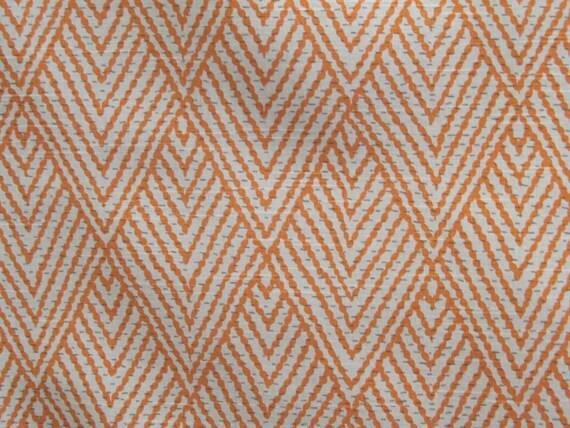TANGERINE designer, drapery/bedding/upholstery ikat fabric