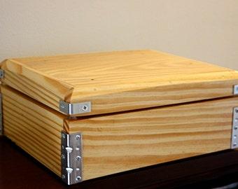 Reclaimed Southern Yellow Pine KeepSake Box