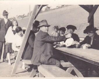 Vintage Photograph - On a Picnic, Vernacular Photo, Ephemera (GGG)