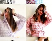 5 Robes, READY TO SHIP, Bridal / Bridesmaids robe,High Quality Turkish Cotton Bath,Beach,Handmade Eco Friendly Light