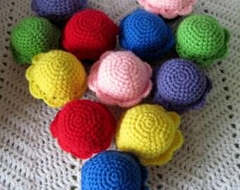 Crochet Cupcakes-Dozen