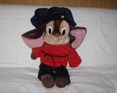 vintage 1986 caltoys sears fievel 22 inch plush doll