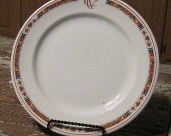 Sterling Vitrified China Restaurant Ware Plate