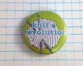Knit a Revolution Button