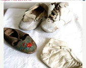 4 Antique Baby Booties - Shoes - Boots