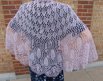 Wings of a Prayer Shawl with beads, Crescent