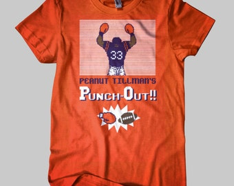 Peanut Tillman's Punch-Out Chicago Bears T-Shirt