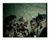 Instant Download //Digital Scan // Vintage // Color Photo // Japanese Costumes Halloween Parade              1049