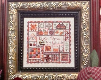 Take Time To Quilt - Jeannette Douglas - Chart & Fibre Package