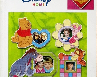 Pooh Fun-Time Magnets - Disney Pooh Collection - OOP Plastic Canvas Book by Leisure Arts
