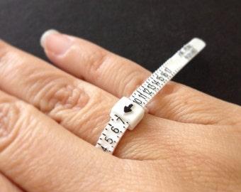 Adjustable Ring Measure, Ring Measurements, Ring Sizer, Multi Sizer, Ring Size Gauge, Ring Fit, Measuring Tool, Finger Sizing