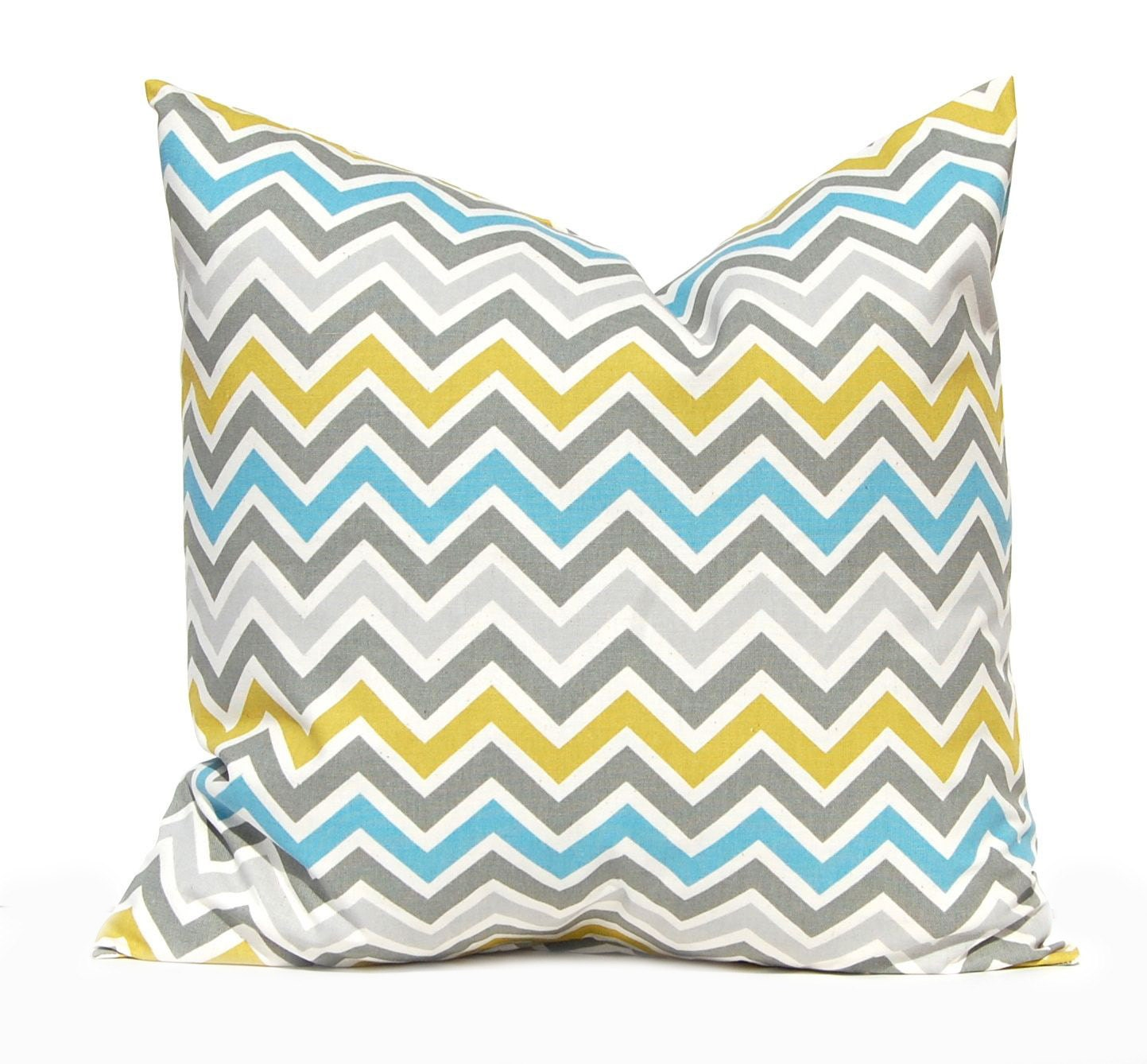 Chevron Pillow Cover Decorative Pillow Covers by CompanyTwentySix